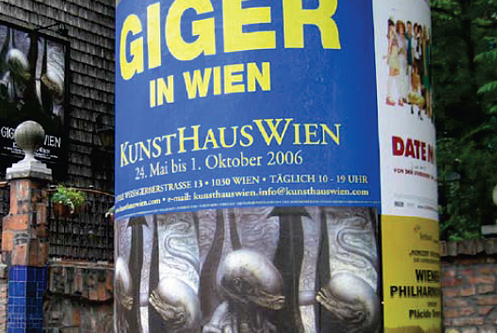 Giger en Viena: Retrospectiva en la capital austríaca
