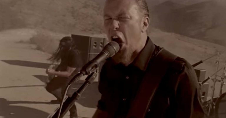 Metallica y el vídeo de 'The day that never comes'