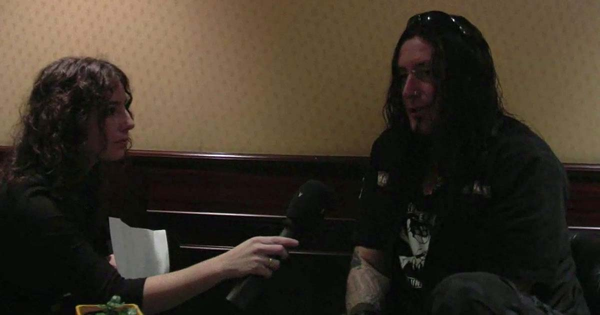 Entrevista en vídeo con 'Schmier' de Destruction