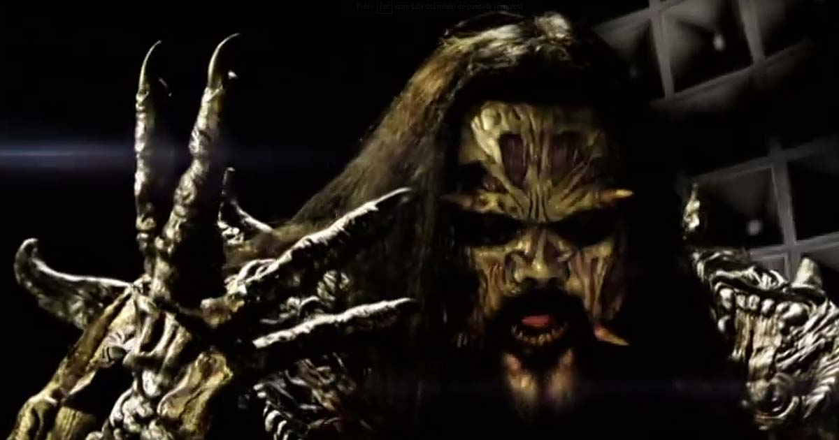 Nuevo vídeo de Lordi, 'This is heavy metal'