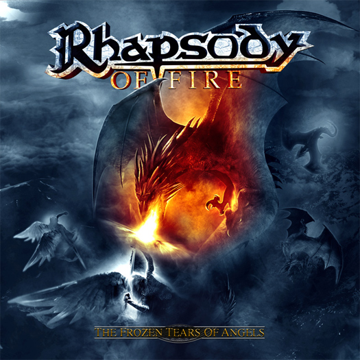Rhapsody of Fire 'Frozen tears of angels', crítica y portada