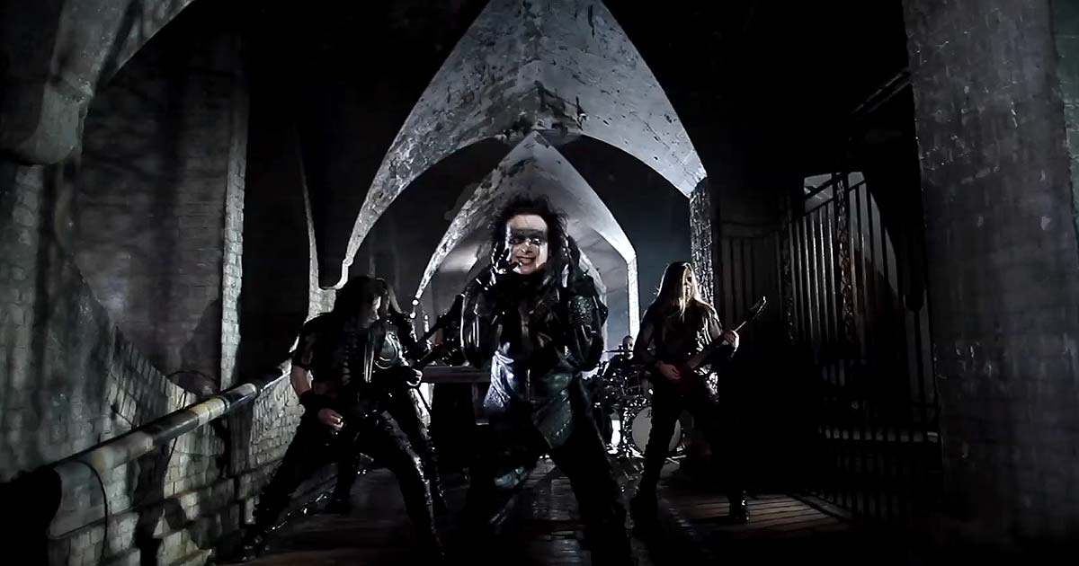 Nuevo vídeo de Cradle of filth, 'Forgive me father'