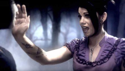 The Birthday Massacre y el vídeo de 'In the dark'