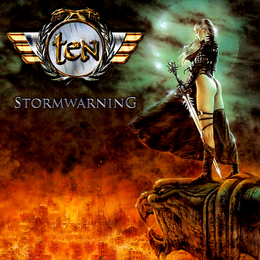 Crítica y portada de Ten, Stormwarning