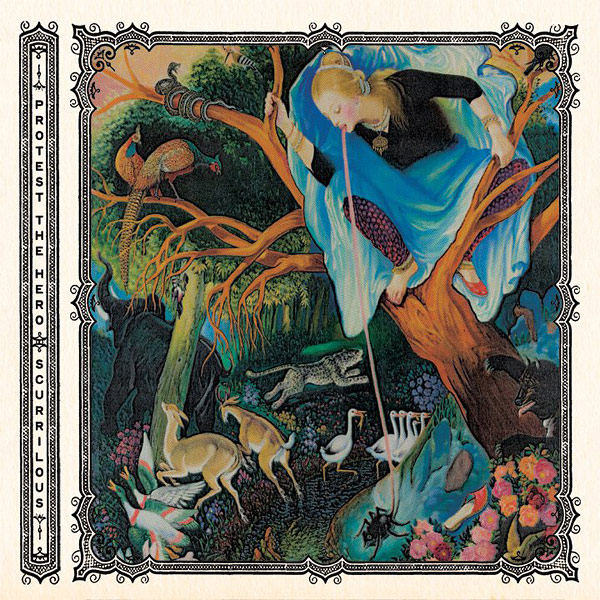 Protest the hero, crítica y portada de Scurrilous