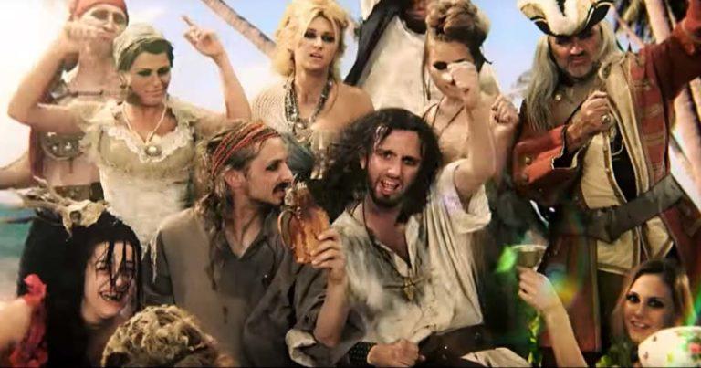Alestorm y el vídeo de 'Shipwrecked'