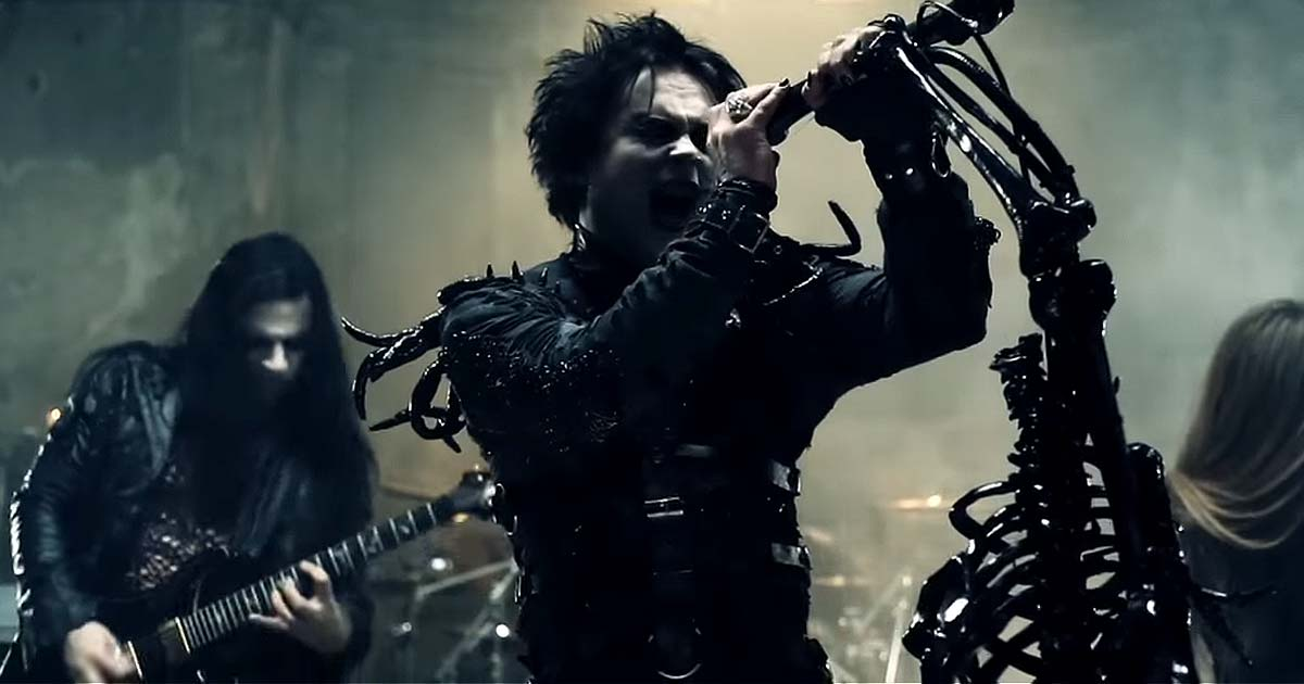 Nuevo vídeo de Cradle of filth, 'Lilith Immaculate'
