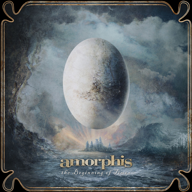 Amorphis, The beginning of time crítica y portada