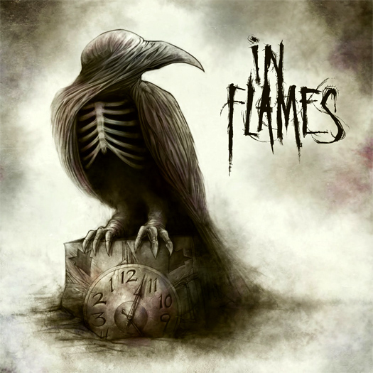 In flames, Sounds of a playground fading, crítica y portada