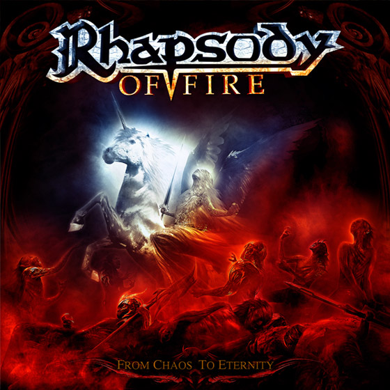 Rhapsody of Fire 'From chaos to eternity', critica y portada