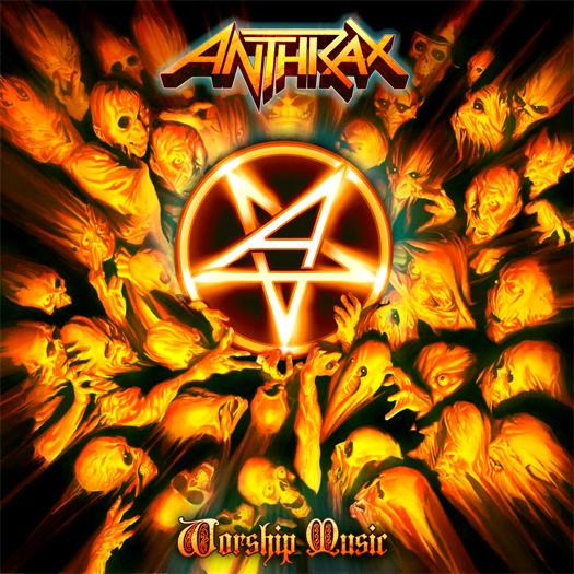Anthrax, crítica y portada de Worship music