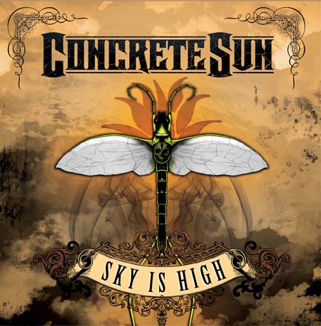 Concrete Sun 'Sky is high', crítica y portada