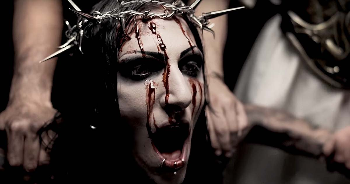Motionless in White y el vídeo de 'Immaculate misconception'