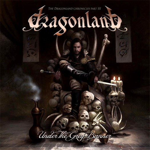 Dragonland 'Under the grey banner' crítica y portada