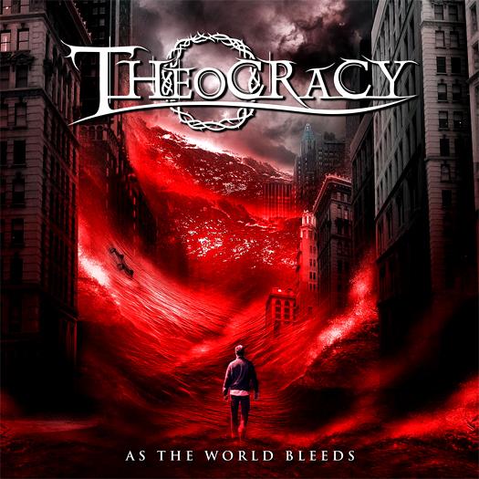 Theocracy 'As the world bleeds', crítica y portada