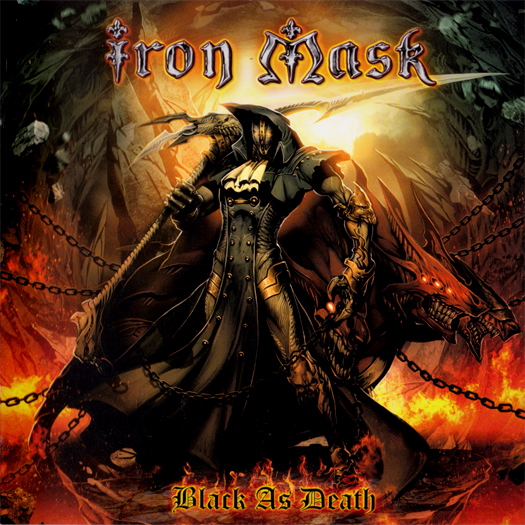 Iron Mask 'Black as death', crítica y portada