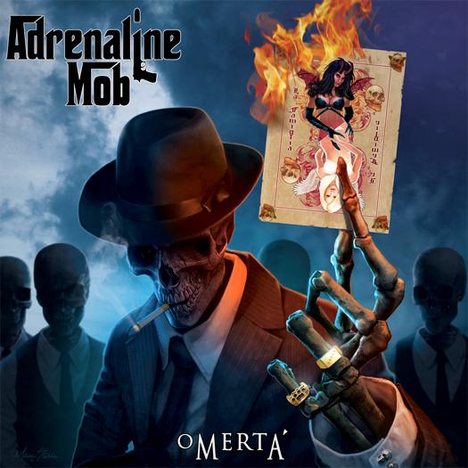 Adrenaline Mob, crítica y portada de 'Omerta' - cover