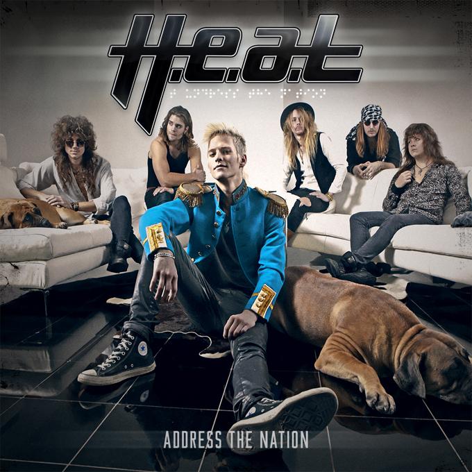 H.E.A.T. 'Address The Nation', crítica y portada