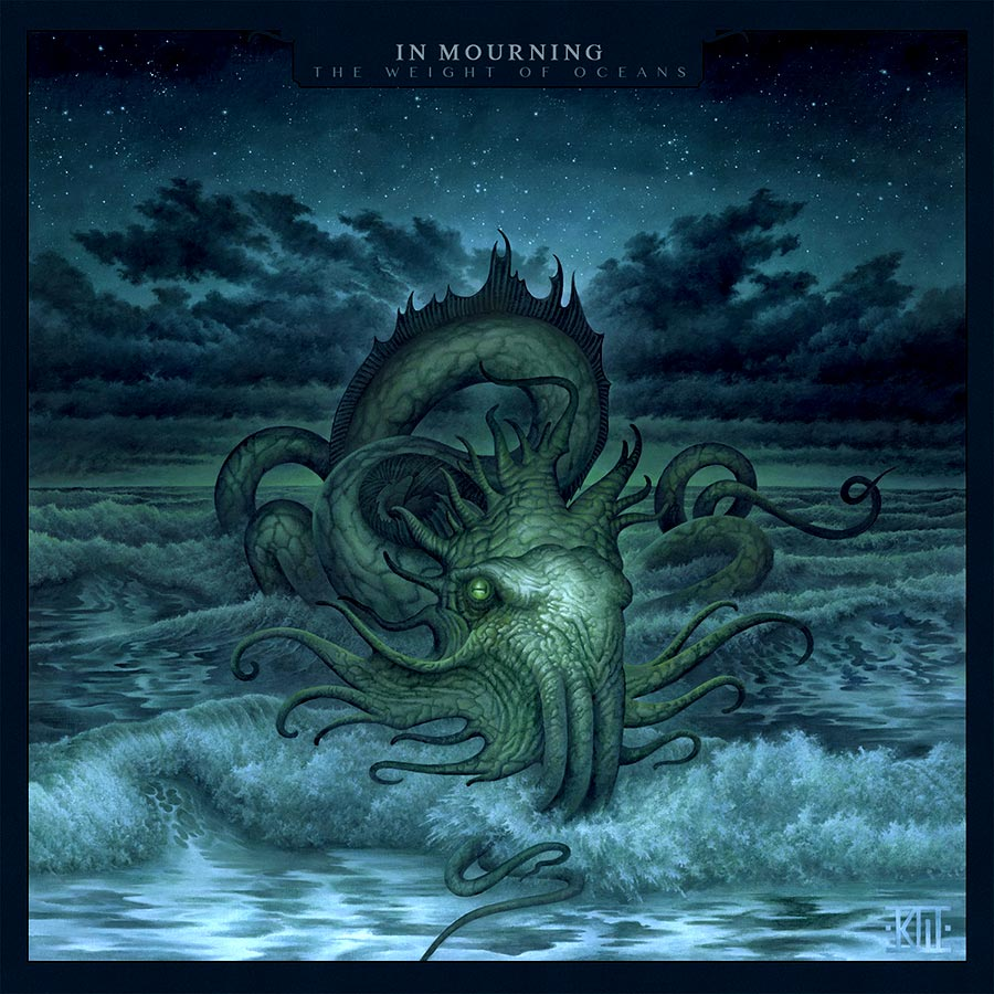 In mourning 'The weight of oceans', critica y portada