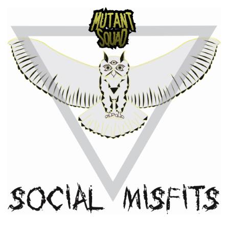 Mutant Squad 'Social Misfits' EP, crítica y portada