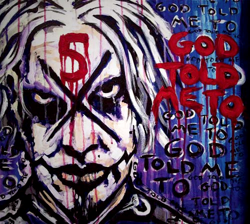 John 5 'God told me to', crítica y portada