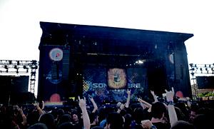 Crónica y fotos de Sonisphere 2012 - Getafe, Viernes 25