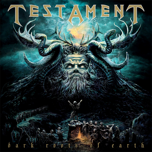 Testament 'Dark roots of the earth', crítica y portada