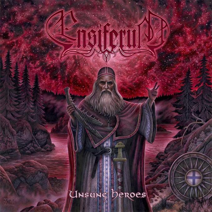 Ensiferum 'Unsung heroes', crítica y portada