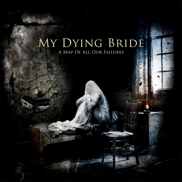 My Dying Bride 'A Map of All Our Failures', crítica y portada