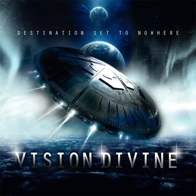 Vision Divine 'Destination Set To Nowhere', crítica y portada
