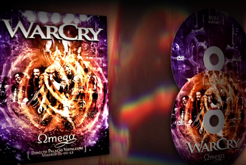 Firma del DVD 'Omega' de WarCry en la Sala We Rock de Madrid