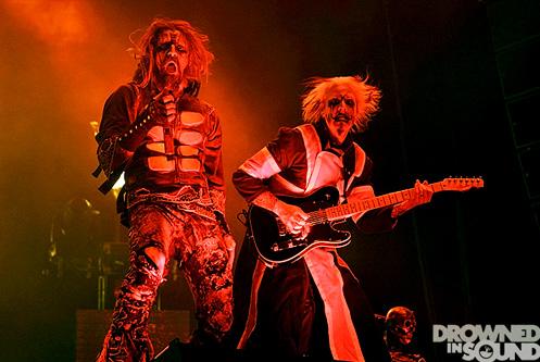Fotos de Rob Zombie y Marilyn Manson en el O2 Arena de Londres