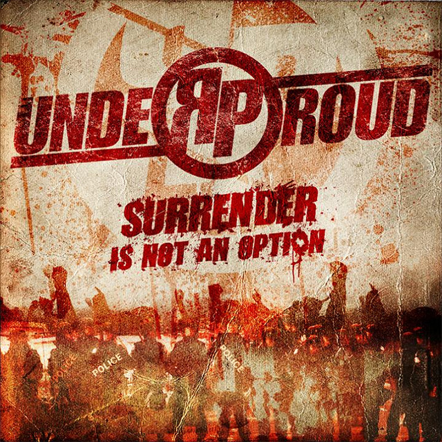 Under Proud 'Surrender is not an option'