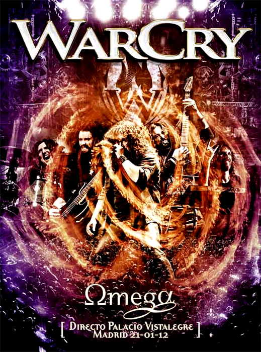 Warcry 'Omega' DVD
