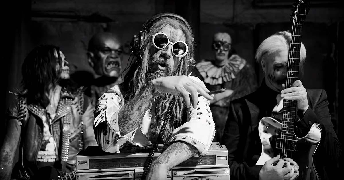 Rob Zombie y el vídeo de 'Dead City Radio And The New Gods Of Supertown'