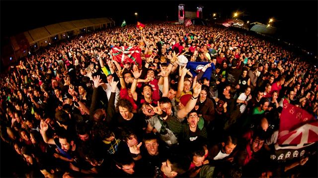 Viña Rock 2013, viernes 3 de mayo