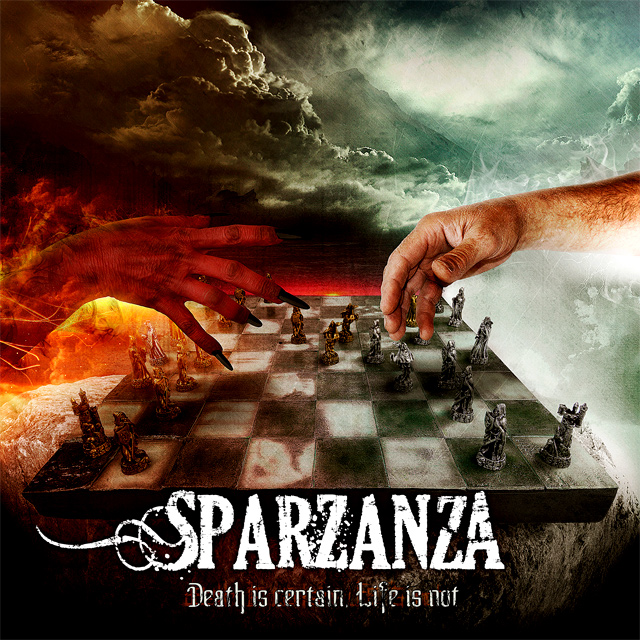 Sparzanza 'Death is certain, Life is not'