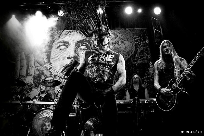 Crónica y fotos de Amorphis con Starkill en Valencia