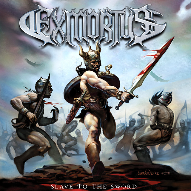 Portada y crítica de Exmortus Slave to the sword