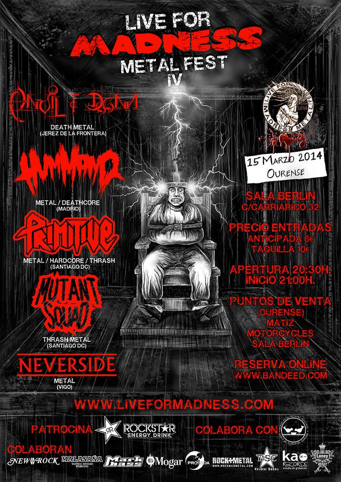 Cuenta atrás para el IV Live for Madness Metal Fes
