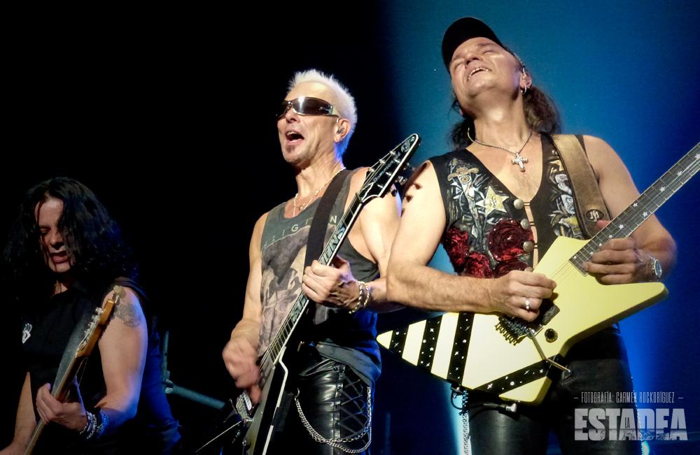 Crónica y fotos de Scorpions con H.E.A.T. en Madrid