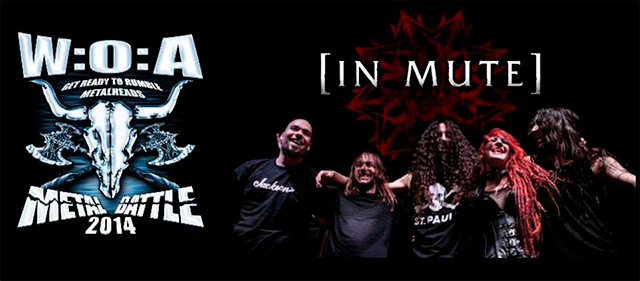 In Mute ganadores de la WOA Metal Battle Spain 2014