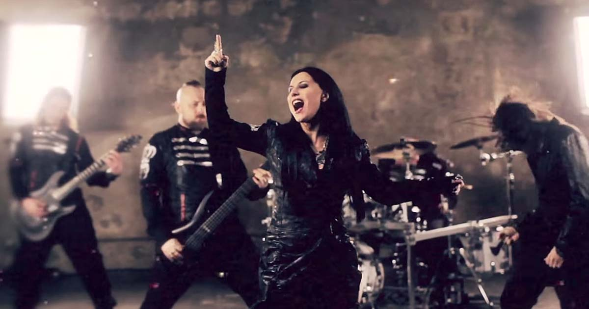 Lacuna Coil y el vídeo de 'I forgive (but I won't forget your name)'