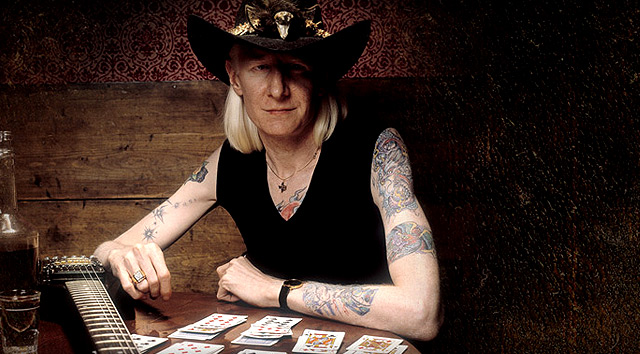 Fallece el legendario Johnny Winter