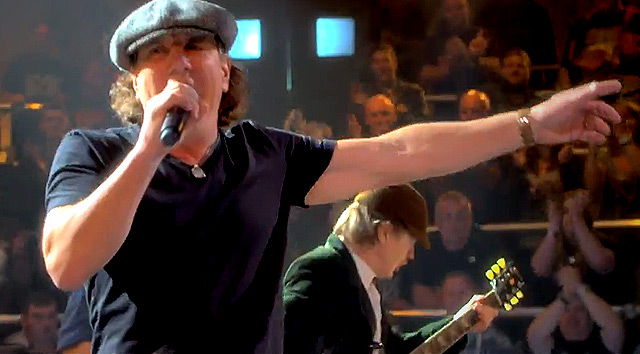 Nuevo vídeo de AC/DC 'Rock or Bust'
