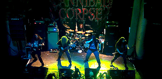 Crónica de Cannibal Corpse, Revocation y AEON en Madrid