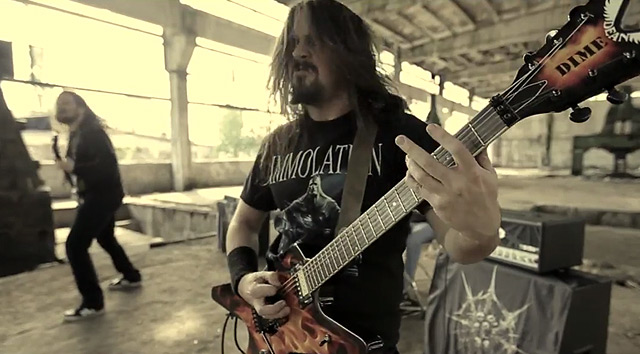 Decease y el vídeo de 'Consume the weak'
