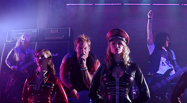 Fozzy y el vídeo de 'Do You Wanna Start A War'