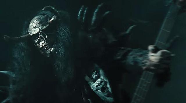 Lordi y el vídeo de 'Scare Force One'