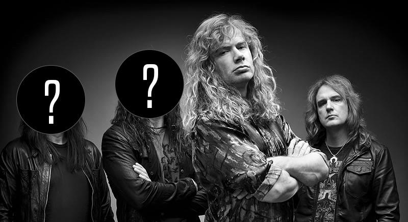 Megadeth se parte en dos: Broderick y Drover anuncian su salida